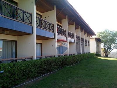 Flat Com 1 Dormitório À Venda, 36 M² Por R$ 180.000 - Zona Rural - Gravatá/pe - Fl0050