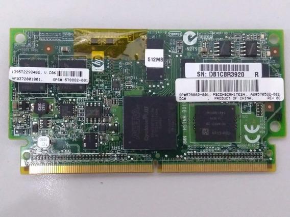 Memória Hp 578882-001 512mb Para Bateria Array Hp 4k1215