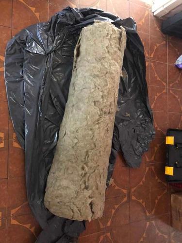 Lana De La Roca Mineral Plancha 1x1,5 Metros 25mm