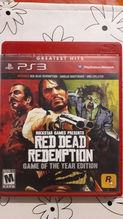 Red Dead Redempetion Fisico Original Ps3