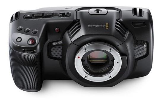 Blackmagic Pocket Camera 4k + Viltrox Ef-m2 - Pronta Entrega