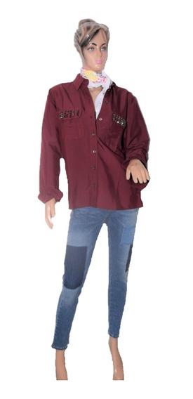 Lee Camisa Regina Shirt Con Tachitas Promo