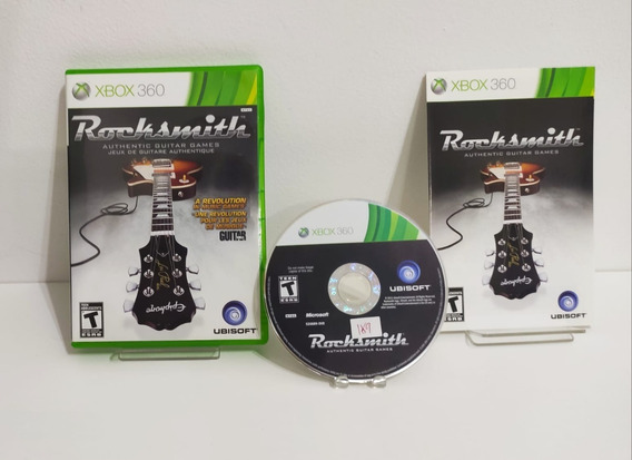 Rocksmith - Xbox 360 Original - Semi Novo