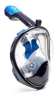 Máscara Snorkel Panorámica De 180 Grados Con Vista Al Mar