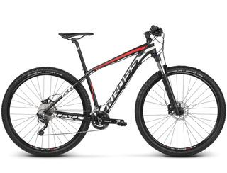Bicicleta Kross Level 6.0 29 Negro/rojo Matte Lg