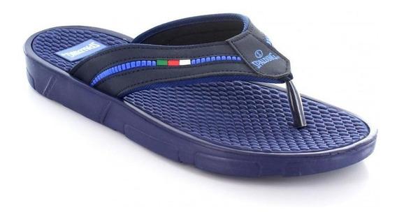 Sandalia Para Hombre Spalding 13042-045294 Color Azul