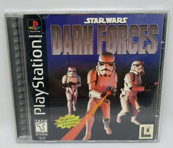 Star Wars Dark Force Original Completo Ps1 Cr $15