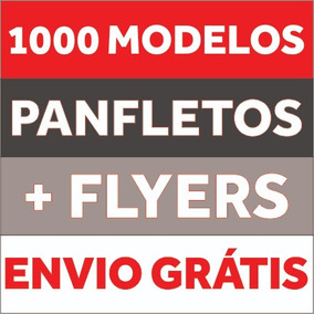 Folder Cartaz Flyer Folheto Editavel No Corel Draw + Bonus
