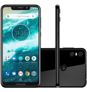 Smartphone Motorola One Xt1941 64gb Tela De 5,9 Andoird 9.0