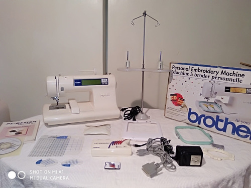 Bordadora Brother Pe- 150 Con Pe- Design Y Accesorios