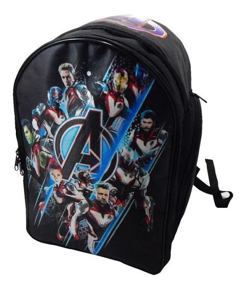 Avengers Mochila Backpack Endgame Traje Cuantico