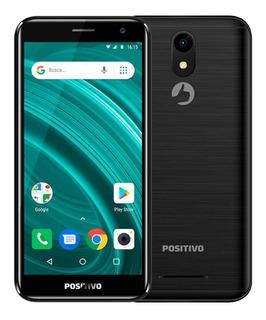 Smartphone Positivo Twist 2 Go S541 Quad-core Dual Chip Preto