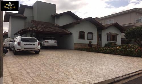 Excelente Casa À Venda No Condomínio Flora Ville Em Boituva - Ca00243 - 34454144