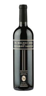 Vino El Malbec De Ricardo Santos X 750 Cc