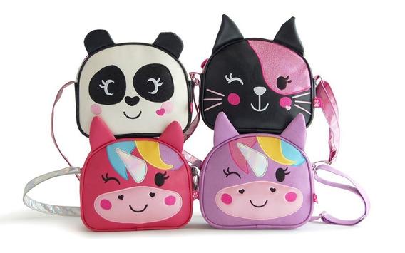 Cartera Infantil Zoo Bags Unicornio Panda Gato Cuotas Mmk