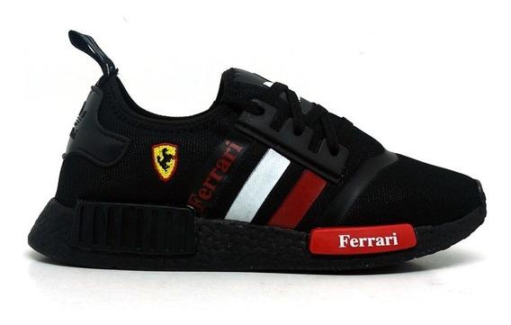 Tenis Ferrari Masculino Novo Na Caixa Lancamento 2019 Corrida Esportes Academia Estilo