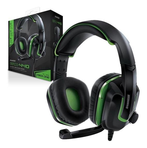 Fone Headset Dremagear Grx-440 Xbox One Pc 12x S/ju + Frete