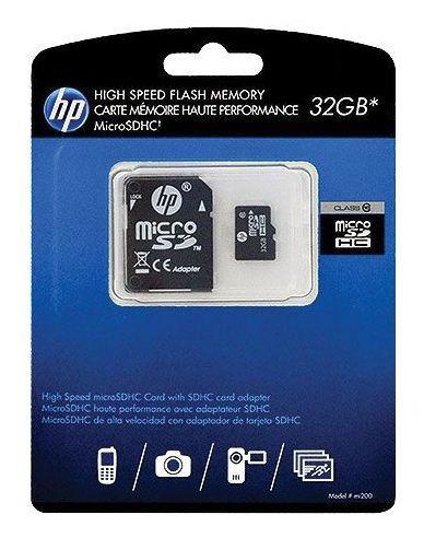 Cartao De Memoria 32gb Micro Sd Class 10 Hp L1892a-ef