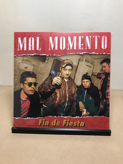 Vinilo Mal Momento - Fin De La Fiesta