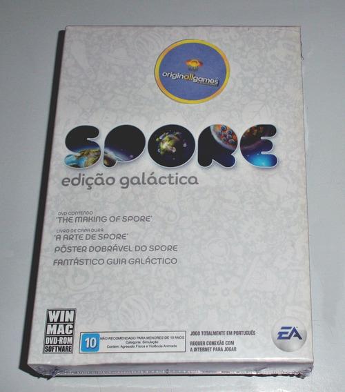 Spore Edição Galáctica ¦ Jogo Pc Original Lacrado ¦ M Física