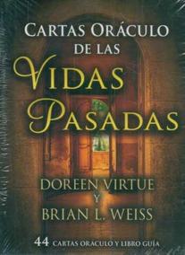 Cartas Oraculo De Las Vidas Pasadas De Virtue Doreen Weiss
