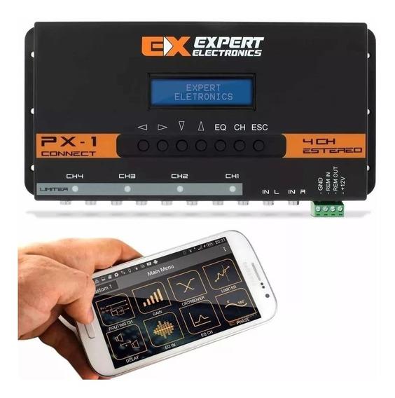 Crossover Expert Px-1 Connect Bluetooth Processador Digital