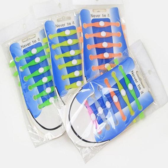 Cadarço De Silicone Elastico Facil Encaixe Cs001