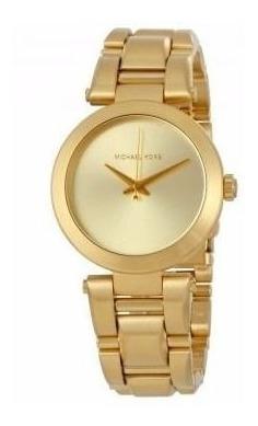 Relógio Michael Kors Mk3517 Feminino Dourado Original Nf
