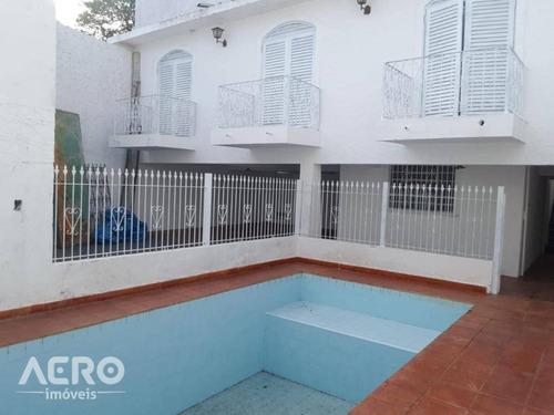 Residencia Na Vila Aeroporto, Proximo Ao Bauru Shopping, Contendo 03 Dormitórios - Ca2459