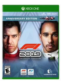F1 2019 Formula 1 Anniversary Edition Xbox One Mídia Física