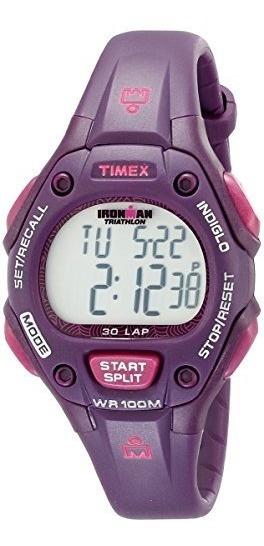 Relojes Deportivos,t5k7569j Timex Ironman Mujeres Tradic..