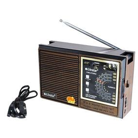 Radio Retro Com Receptor De 4 Bandas Livsky Cnn 2730 Usb