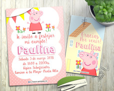 Kit Imprimible Peppa Pig Editable Candy Bar