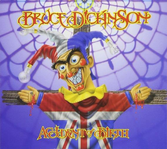 Bruce Dickinson Accident Of Birth Duplo Eu Iron Maiden Raro