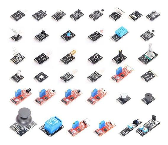 Kit 37 Sensores E Modulos Esp8266 Arduino Raspberry