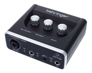 Placa De Audio Interfaz Behringer Um2 Usb 48khz