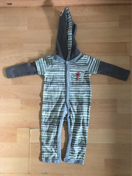 Pijama Osito De Bebé Talle 0-3 Meses