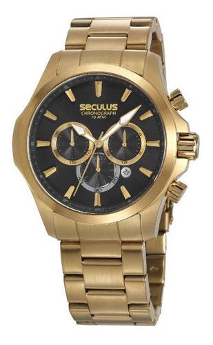 Promoção Relógio Seculus Masculino Grande Prova D'água Origi