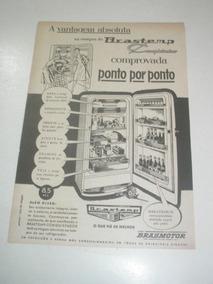 L 290/ Pps440 Propaganda Antiga Geladeira Brastemp