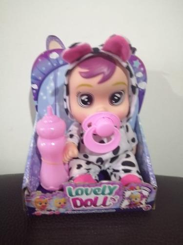 Muñeca Llorona Cry Babies 19 Cms De Largo Parada