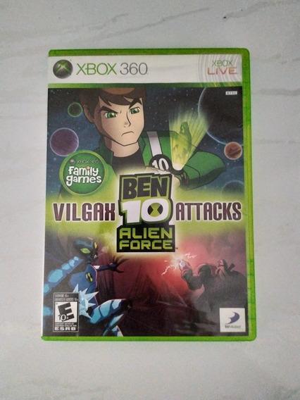 Jogo Ben 10 Alien Force: Vilgax Attacks Xbox 360