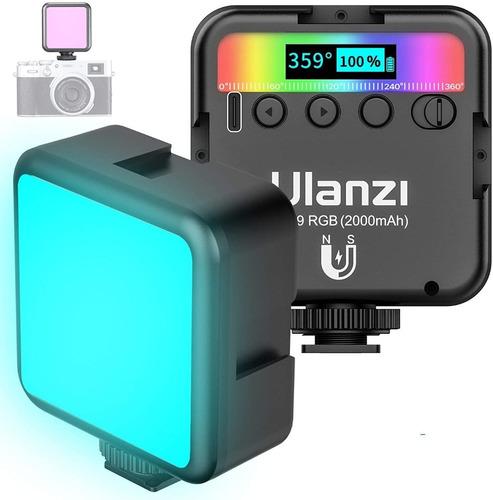 Imagen 1 de 5 de Luz De Video Profesional Rgb Recargable  Ulanzi Magnética