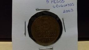 Moeda 5 Pesos Uruguayos 2003
