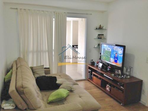 Imagem 1 de 14 de Eli House Imóveis - 26326-j | Apartamento 101 M² - Campestre, Santo André/sp - Ap00936 - 34752128