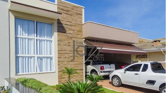 Excelente Casa Térrea De 3 Suítes No Condomínio Terras Do Fontanário, Em Paulínia - Ca7699