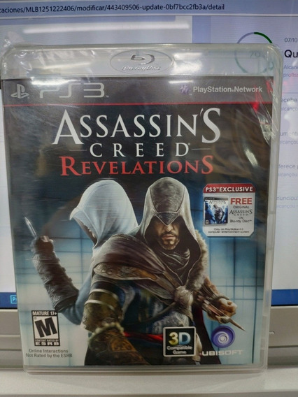 Jogo Assassins Creed Revelations Playstation 3, Lacrado