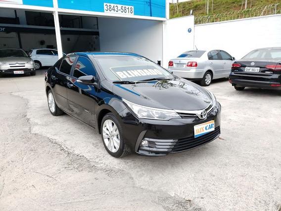 Toyota Corolla Xei Blindado 2018 Novíssimo Oportunidade!!