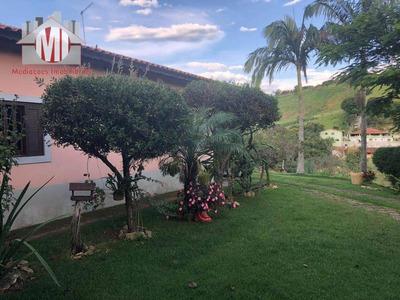 Chácara Com 03 Dormitórios À Venda, 2500 M² Por R$ 400.000 - Zona Rural - Pinhalzinho/sp - Ch0489