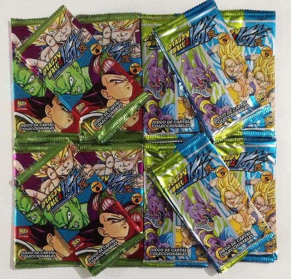 Cartas Dragon Ball Z Kai Sobres Extensiones X10 Surtidos- Sd