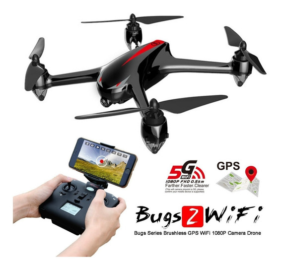 Drone Bugs 2 Mjx Wifi Fpv Brushless Hd Camera Gps